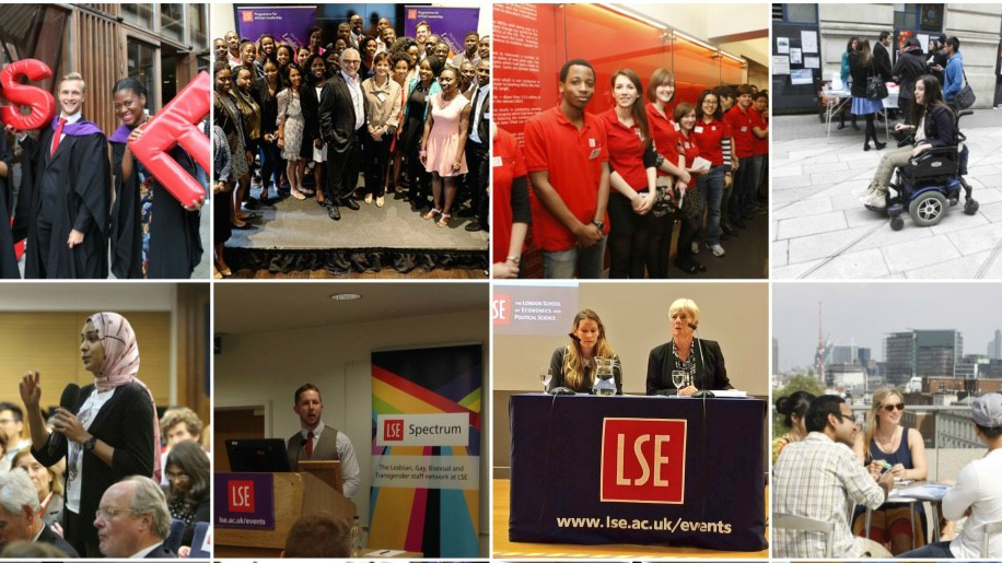 Images from the LSE Diversity Calendar 2016-17