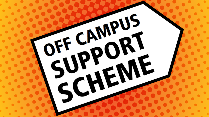 Off Campus Support Scheme banner