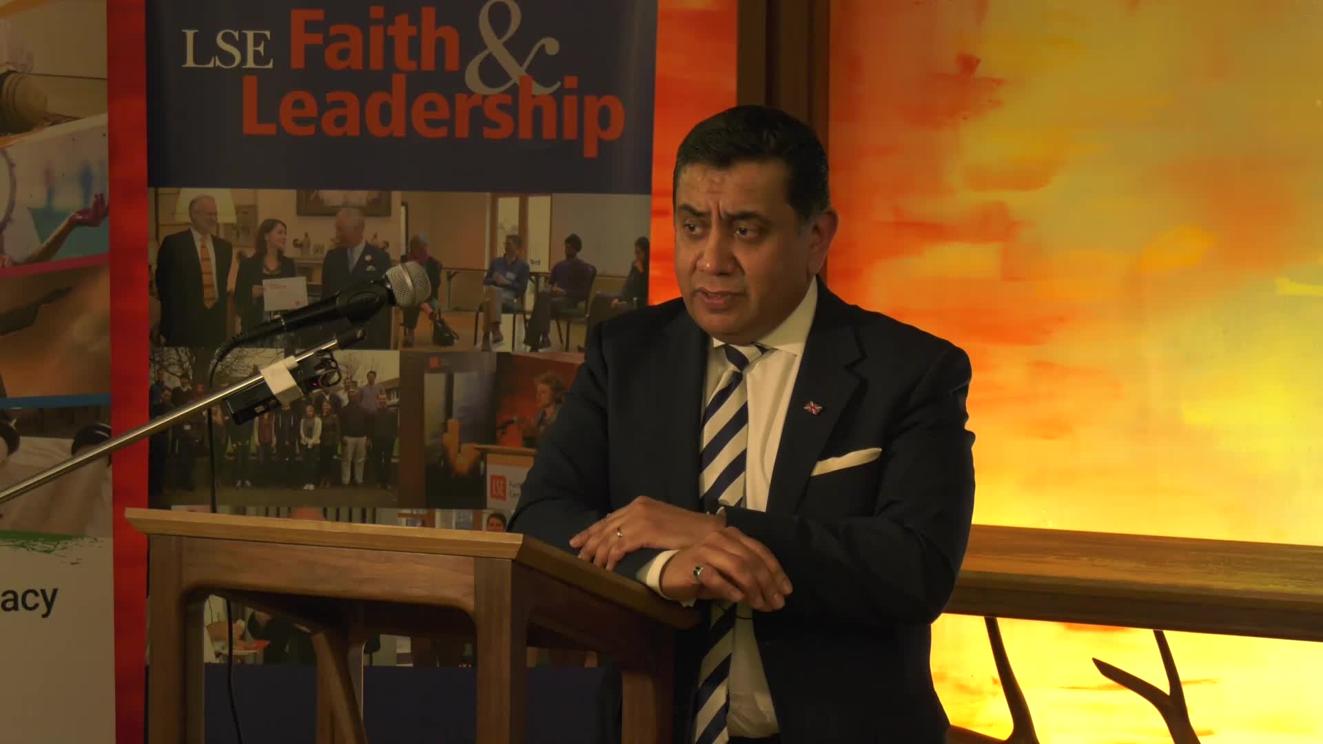 Lord Ahmad lecture: 'Leading for religious freedom'