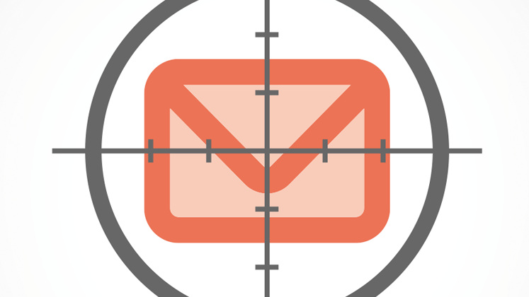 Email in crosshairs