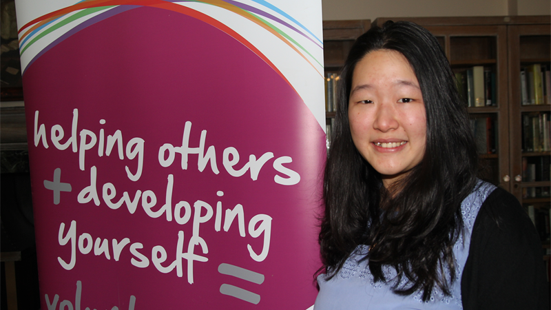 LSE Volunteer of the Year 2015 Jacqueline Ting