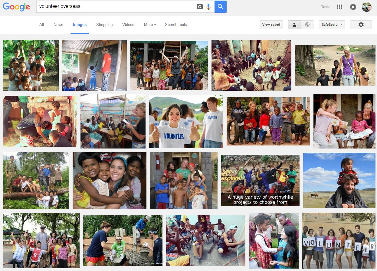 Volunteer-overseas-search-screenshot