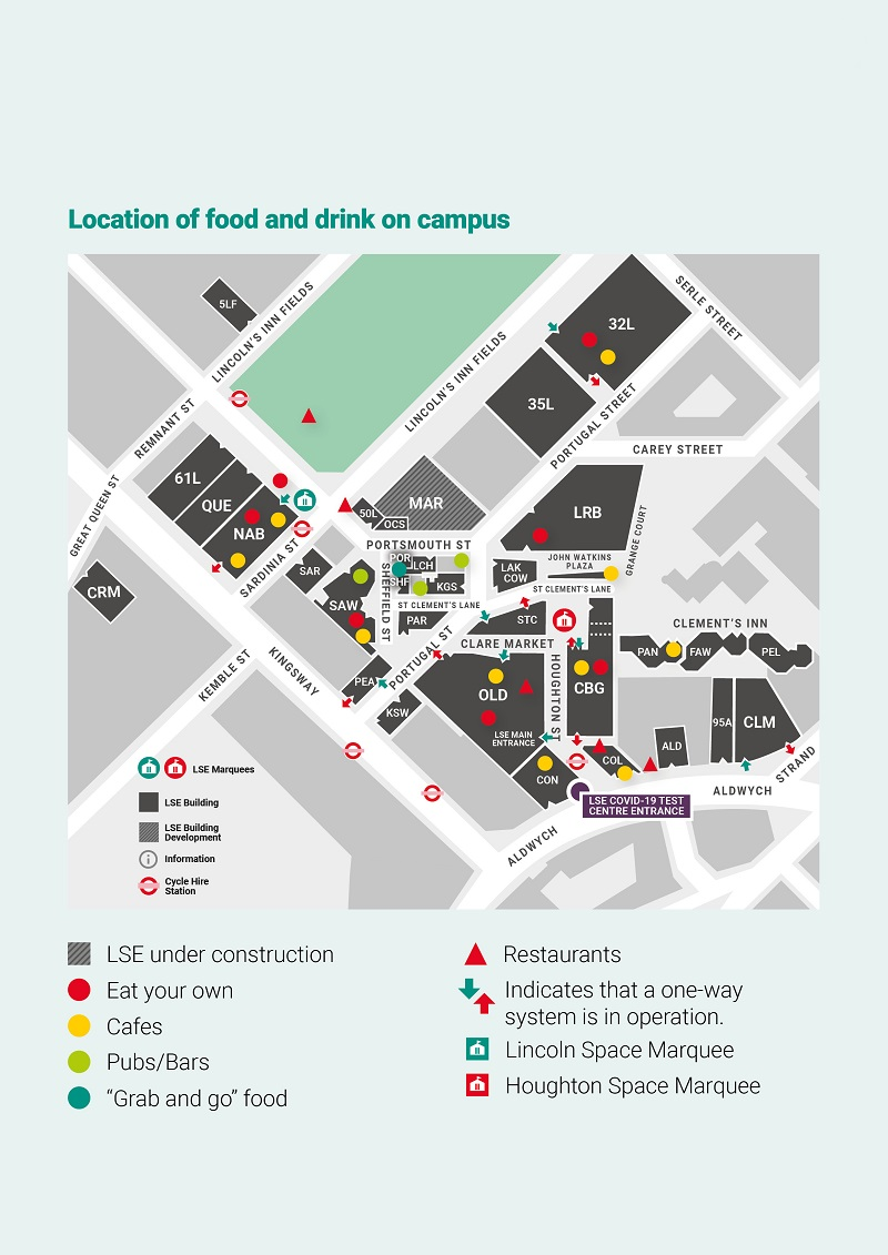 20_0184 Student Facilities Guide_Food&Drink_Map