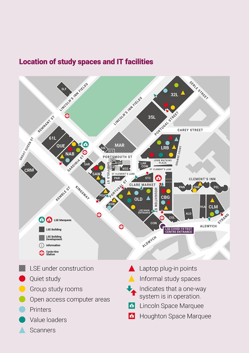 20_0184 Student Facilities Guide_StudySpaces&IT_Map