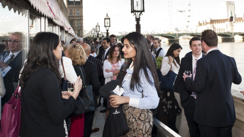 LSE Alumni meeting at the House of Lords