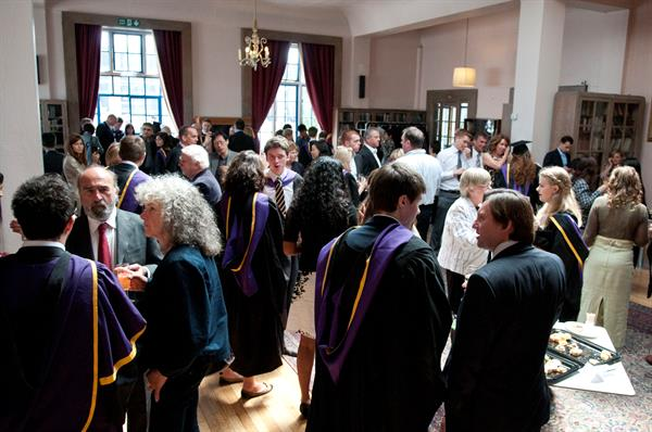 Graduation Ceremony Reception: Post Ceremony Drinks Receptions