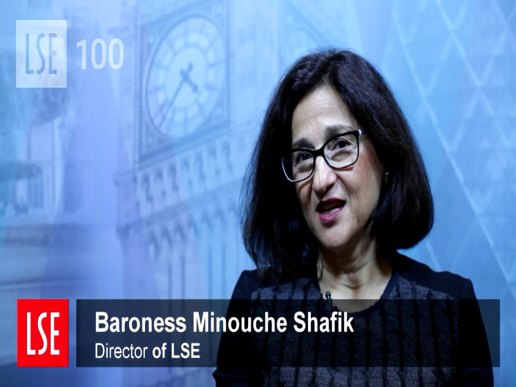 LSE100 Introduction by Dame Minouche Shafik