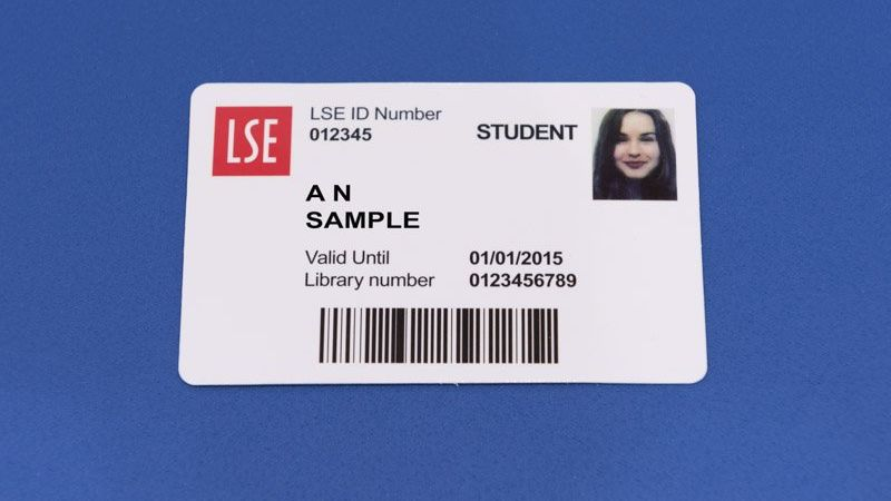 an LSE ID card
