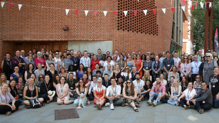 LSE staff rainbow lanyard photo 6 July 2018 by Nigel Stead