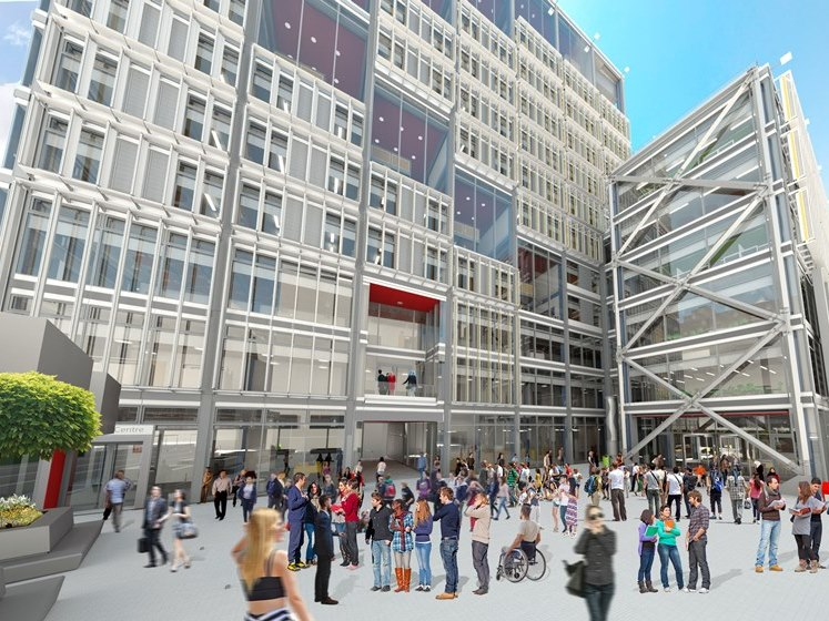 Fly through the new Centre Buildings Redevelopment currently under construction at the heart of the LSE campus