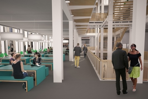 Centre Building Redevelopment interior image