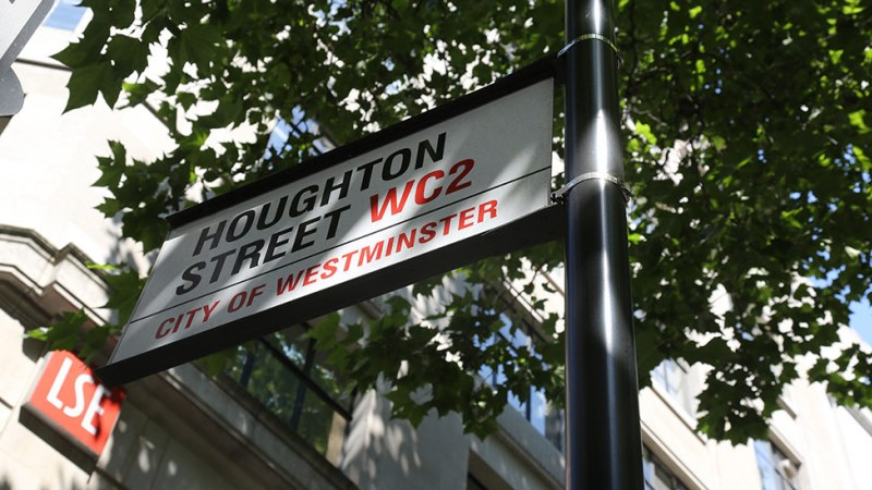 Houghton Street sign