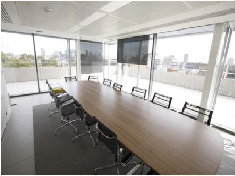 A meeting room in the New Academic Building